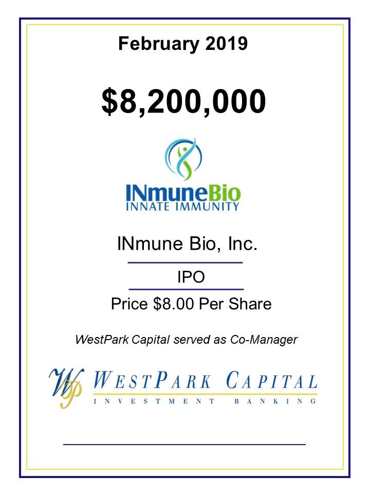 0219 INmune Bio